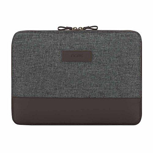 Incipio [Esquire Series] Sleeve für Microsoft Surface Pro (2017) & Pro 4 / Surface Laptop - von Microsoft zertifizierte Schutzhülle [Type Cover Kompatibel | Viele Fächer | Baumwolle | Gepolstert] - burgundy (MRSF-103-BUR)