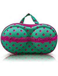 Orpio Lingerie Bra Bag Travel Organizer Small Compact Bra, Organizer Case, Travel Bag Bra Storage Bag