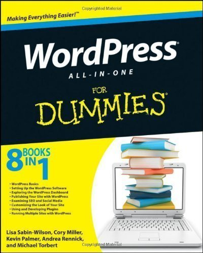 WordPress All-in-One For Dummies by Sabin-Wilson, Lisa Published by For Dummies 1st (first) edition (2011) Paperback