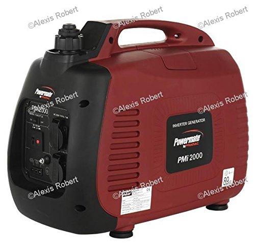 Generator inverter insonorizado 2,0 Kw Pramac PMi2000 -