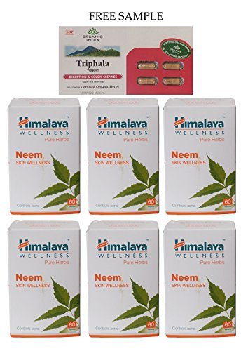 himalaya-neem-azadirachta-indica-60-tablets-pack-of-6-free-expedited-shipping-via-dhl-express-delive