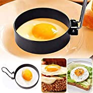 Stainless Steel Egg Ring,2 Pack Round Breakfast Household Mold Tool Cooking,Round Egg Cooker Rings For Cooking