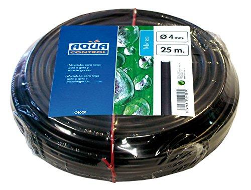 Aqua Control C4020 - Rollo de 25 metros de microtubo de 4 mm. para goteo.