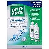Alcon Opti-free PureMoist paquete de suministro 2 x 300 ml, 1-pack (1 x 600 ml)