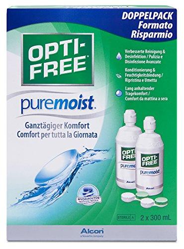 Opti-Free PureMoist Pflegemittel, Vorratspackung (2 x 300 ml)