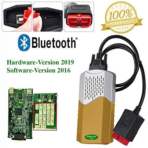 SPIRO AMT Profi KFZ DIAGNOSEGERÄT Gold für PKW & LKW bis BJ. 2016 OBD2 mit Bluetooth