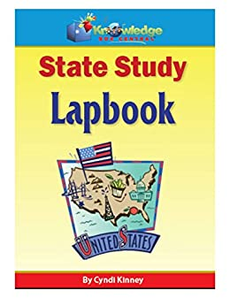 State Study Lapbook: Plus FREE Printable Ebook (English Edition ...