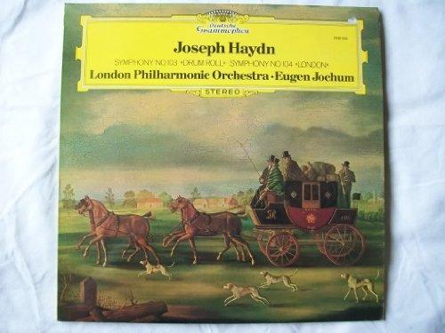 2530 525 Haydn 103 Drum/104 London LPO Jochum LP