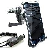 KFZ Set für Samsung Galaxy S7 / S7 edge / S6 / S6 edge / S6 edge+ / S5 / S5 mini / S5 neo / S4 / S4 mini / S3 / S3 mini / S2 / S2 Plus / S / A3 / A5 / J5 / J1 / KFZ Halterung (Mod:2) für die Lüftung inkl. Auto Ladekabel
