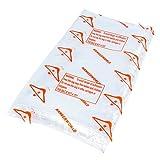 Hangerworld - Folien Kleider-Schutzhüllen perforiert, 50 Stück - Transparent - 137cm