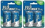 Best D Batteries - Fuji Enviromax, Eco Friendly Carbon Zinc Heavy Duty Review