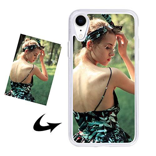 Handyhülle Mit Eigenem Foto Handy Schutzhülle Benutzerdefinierte Telefonhülle Stoßfest Telefonschutz Hülle Smartphone Abdeckung Kratzschutz Backcover für iPhone7/7 plus/8/8 plus/XR/XS MAX/X