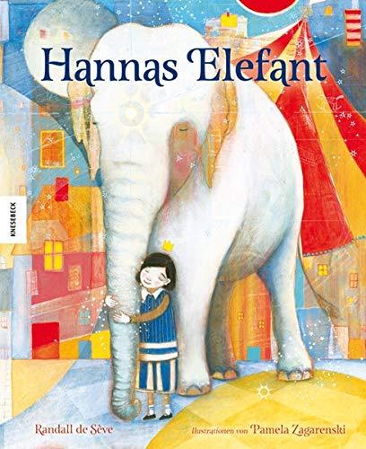 Hannas Elefant: Ein wunderschön illustriertes Bilderbuch zum Thema umziehen und Freunde finden