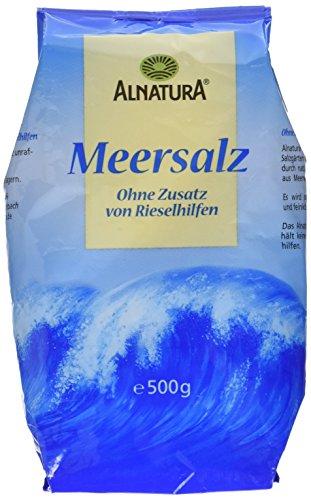 feines meersalz Alnatura Meersalz, 500 g