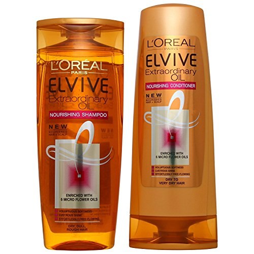 Elvive by L'Oreal Paris Extraordinary Oil Nourishing Shampoo & Conditioner Duo