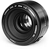 Yongnuo EF YN 50mm F/1.8 1:1.8 Standard Prime Lens for Canon Rebel Digital Camera