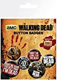 The Walking Dead Phrases Button-Pack Standard