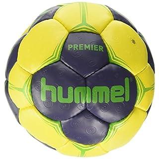 Hummel Erwachsene Premier Handball, Ombre Blue/Yellow/Green, 2