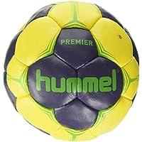 Hummel Premier Balonmano, Color Ombre Blue/Yellow/Green, tamaño 3