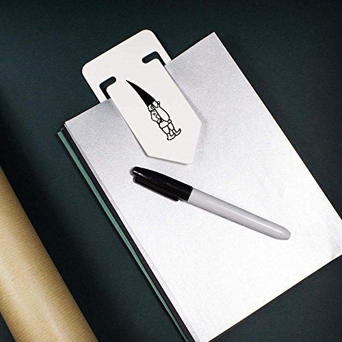 141mm-Curious-Gnome-Giant-Plastic-Paper-Clip-CC00034496