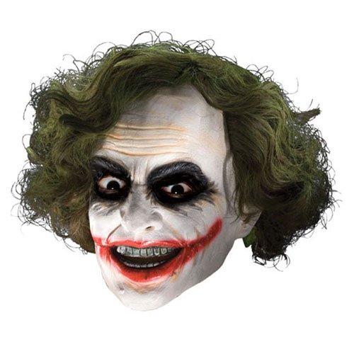 Joker 3/4 Vinyl mit Perücke ()