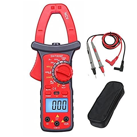ULTRICS® 1000A Auto-Ranging Digital Clamp On Meter & Multimeter with