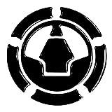 Tankdeckel-Pad 3D 640013 Black Schwarz - universeller Tank-Schutz passend für Kawasaki Tanks