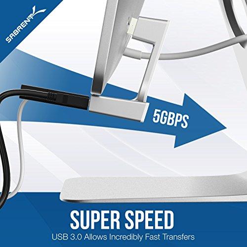 Sabrent Hub USB 3.0pour iMac fin Uni-Body (Hb-imcu)