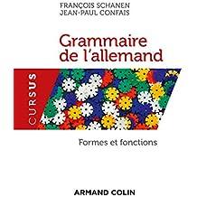 Grammaire de l'allemand. Formes et fonctions