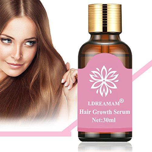 Hair Serum,Haar Booster,Haarwuchsmittel,Anti-Haarausfall Serum,Haar Serum für Gesundes und Festes Haar - Haarwachstum Beschleunigen - für Männer und Frauen - 30ml