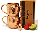 Best Moscow Mule Mugs - Moscow Mule Copper Mugs Set of 2 Review