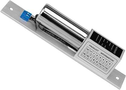 Fail Secure LIBO Verrouillage /électrique Verrouillage /électronique /à mortaise NO Mode Fail Secure pour contr/ôle dacc/ès porte en bois//m/étal