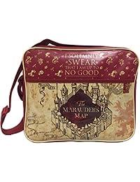 Harry Potter Marauder s Map Messenger Bag School Laptop Cross Body Bag b043638a3b2f9