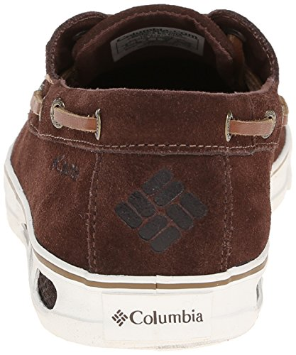 Columbia Vulc N Vent Boat Suede, Baskets Basses Homme Multicolore - Multicolor (Tobacco/Sea Salt)