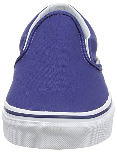 Vans Unisex-Erwachsene Classic Slip-On Sneakers Blau (twilight Blue/true White)