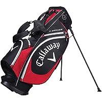 Calaway X Series Bolsa Trípode de Golf, Unisex Adulto, Negro/Roja/Blanco, Talla Única