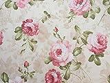 Meterware herrliche Rosen, Angelique, Landhausstil,