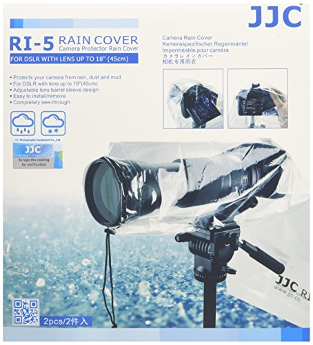 JJC ri-5Regenschutz für Kamera (2Stück) (Big Video Camara)