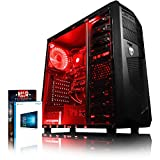 Vibox Standard 3A PC da Gaming, Processore AMD A8 Quad-Core, RAM 8GB, HDD da 1TB, Scheda Grafica AMD Radeon R7, Rosso