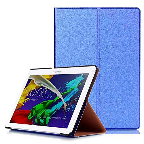 Tasche für Lenovo Tab 2 A10-30 F/L 10.1 Zoll Schutz Hülle Flip Tablet Cover Case TB2-X30 F/L (Blau) NEU