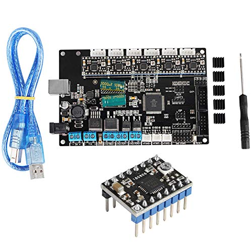 Electronic Components & Supplies Active Components 3d Printer Hot Bed Power Expansion Board Heating Controller Mosfet High Current Load Module 25a 12v Or 24v For 3d Printer Parts Moderate Cost