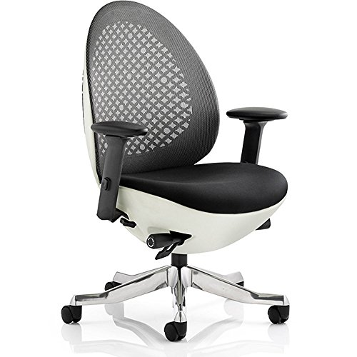 dynamic-revo-task-operator-shell-mesh-chair-with-arms-black