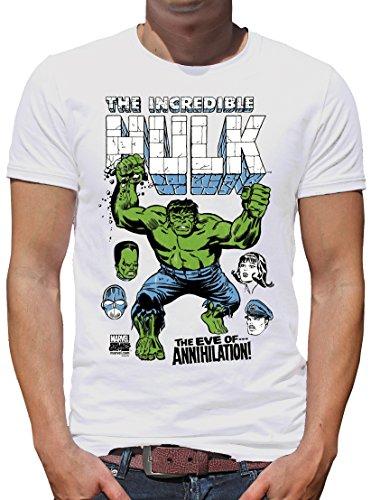 TLM Marvel - Hulk The Eve of... T-Shirt Herren M Weiß