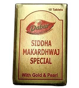 Dabur India Siddha Makardhwaj Special - Pack Of 10 Tablets