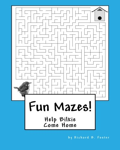 Fun Mazes!: Help Bilkie Come Home: Volume 1 (Bilkie's Adventures)