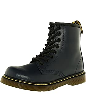 Dr.Martens Kids Delaney 8-Eyelet T Lamper Leather Boots