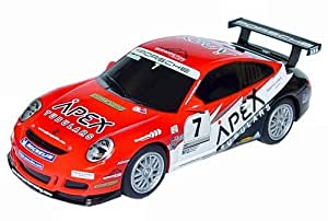 Scalextric C3182 Porsche 997 1:32 Scale Slot Car by Scalextric Street Cars (English Manual)