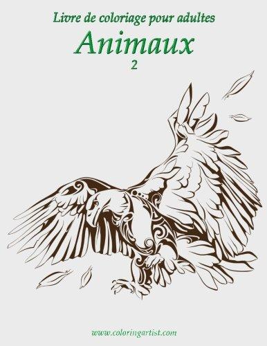 Livre de coloriage pour adultes Animaux 2