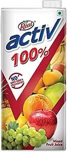Real Activ Mixed Fruit 1L - No Added Sugar