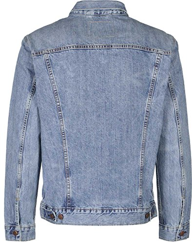 Levi's The Trucker Jacket, Giacca in Jeans Uomo, Blu (Icy), Medium